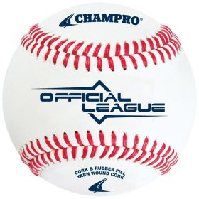 Champro Cbb-200 Official League Baseabll - 1 Dozen | 9 In.