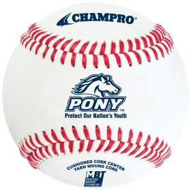 Champro Cbb-300Pl Pony League Tournament Baseball - 1 Dozen | 9 In.