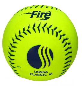 Baden 0U325Ys Usssa Classic M Softball - 1 Dozen | 12In. | Optic Yellow