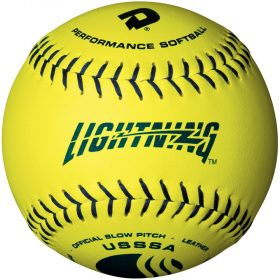 Demarini Lightning All12Yuc-B Usssa Slowpitch Softball - 1 Dozen | 12In.