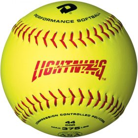 Demarini Lightning Asa 11Ya-B Synthetic Slowpitch Softball - 1 Dozen | 11 In.