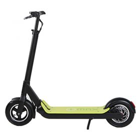 2017 I-MAX S1+ Electric Folding Lithium Scooter - Black/Green