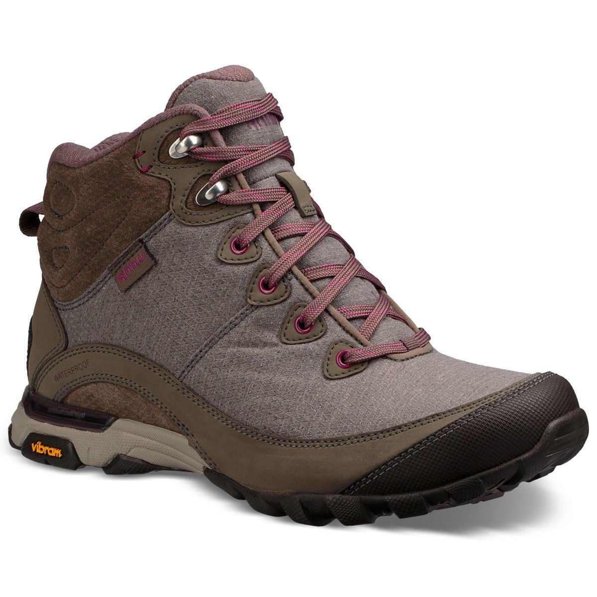 Ahnu Women's Sugarpine Ii Mid Waterproof Hiking Boots - Brown - Size 7