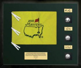 Masters Champions -- 3 Autographed Tournament Used Golf Balls