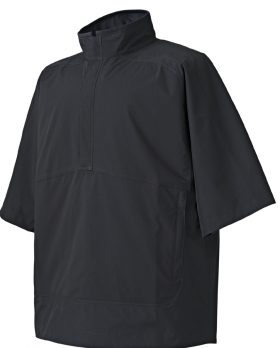 FOOTJOY MENS HYDROLITE SHORT SLEEVE RAIN SHIRT BLACK - 23700 - BLACK -