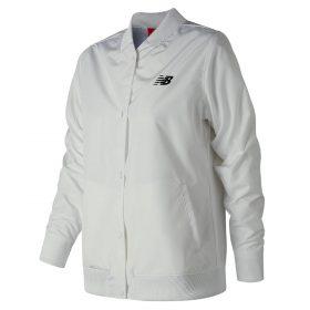 New Balance Women's Coaches Jacket | Size Medium | White