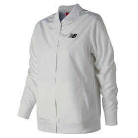 New Balance Women's Coaches Jacket | Size X-Large | White