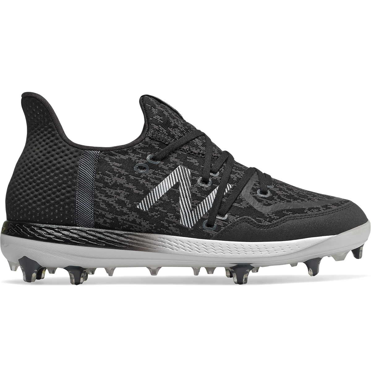 New Balance Lindor Cypher 12 Men's Low Tpu Molded Baseball Cleats | Size 8.5 | Black