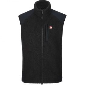 66North Men's Tindur Sherling Vest - Medium - Black