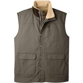 Mountain Khakis Men's Ranch Shearling Vest - Medium - Terra