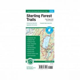 Liberty Mountain HARRIMAN/BEAR MTN MAP SE-TRAILS ILLUSTRAT