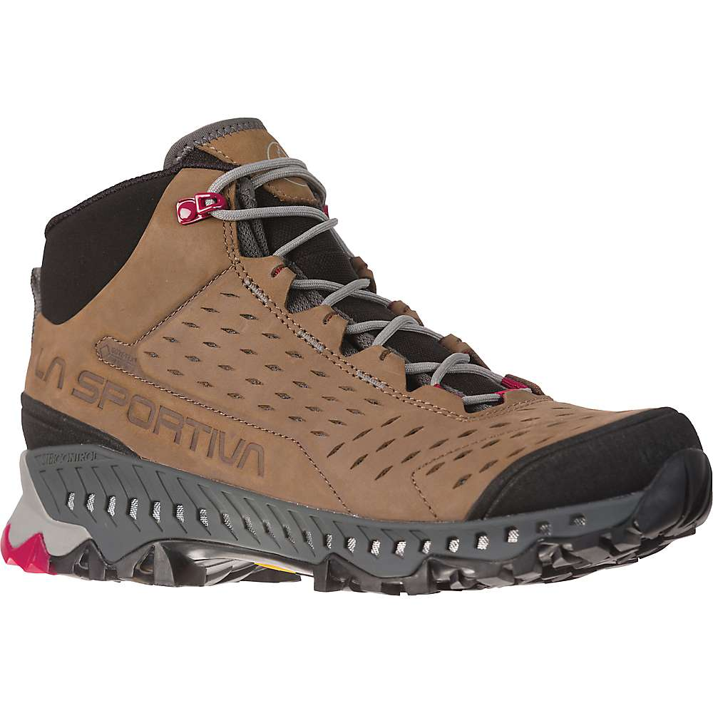 La Sportiva Women's Pyramid GTX Hiking Boot - 42 - Taupe / Beet
