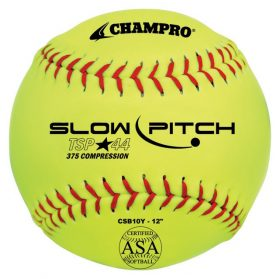 Champro Csb10Y 12In. Asa Tournament Slowpitch Softball - 1 Dozen | 12In.