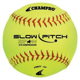 Champro Csb2Y 12In. Recreational Slowpitch Softball - 1 Dozen | 12In.