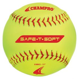 Champro Csb63 11In. Safe-T-Soft Slowpitch Softball - 1 Dozen | 11 In.