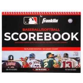 Franklin Mlb Baseball/softball Scorebook | White