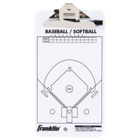 Franklin Mlb Coach's Clipboard | White
