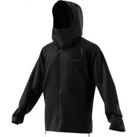 Adidas Men's Swift Rain Jacket - Large - Black