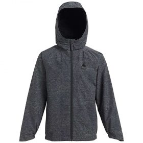 Burton Youth Windom Rain Jacket - Large - Phantom Heather
