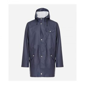 66North Men's Laugavegur Rain Jacket - Medium - Mystic Blue